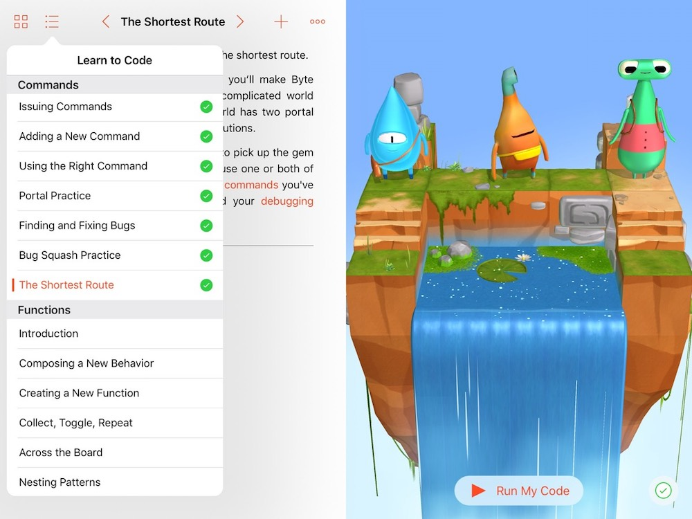 Swift Playgrounds - Lessons